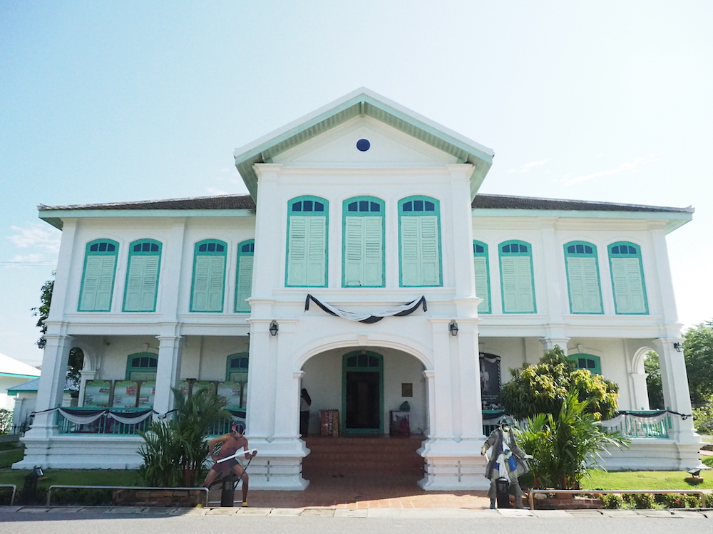 Theodore Roosevelt The Satun National Museum Was Built In A European Colonial Style Mixed With Traditional Thai